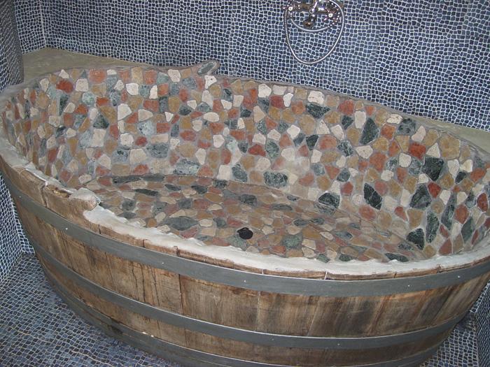 vasca da bagno, idea di arredo bagno. il creativo capriccioso ... - Vasche Da Bagno D Arredo